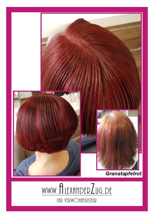 Farbe-Granatapfelrot
