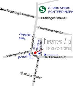 Post Leinfelden Echterdingen adresse zug friseur in leinfelden echterdingen